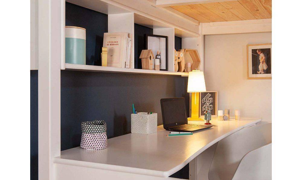lit mezzanine aménagement intérieur gain espace