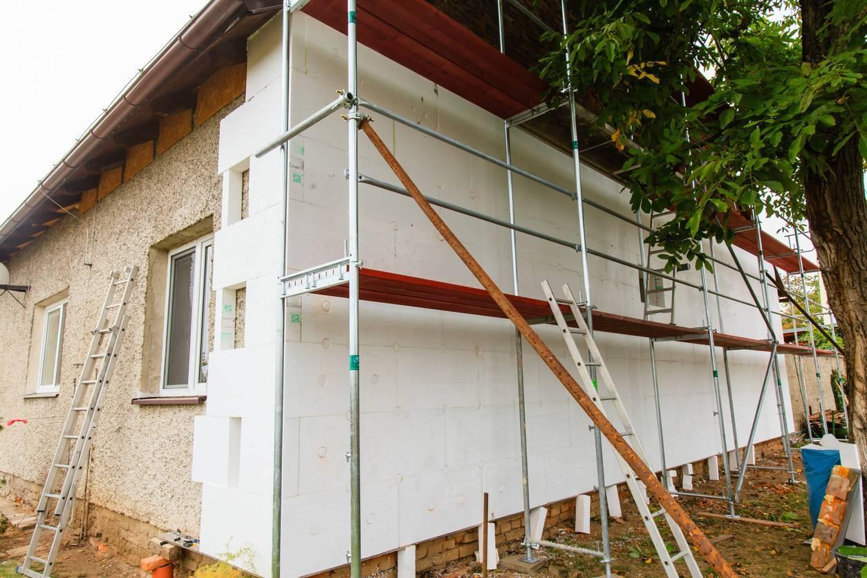 ITE rénovation maison ancienne