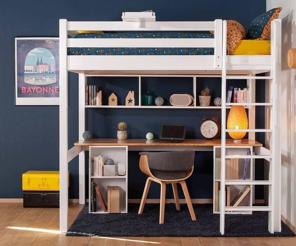 Lit mezzanine petite chambre enfant