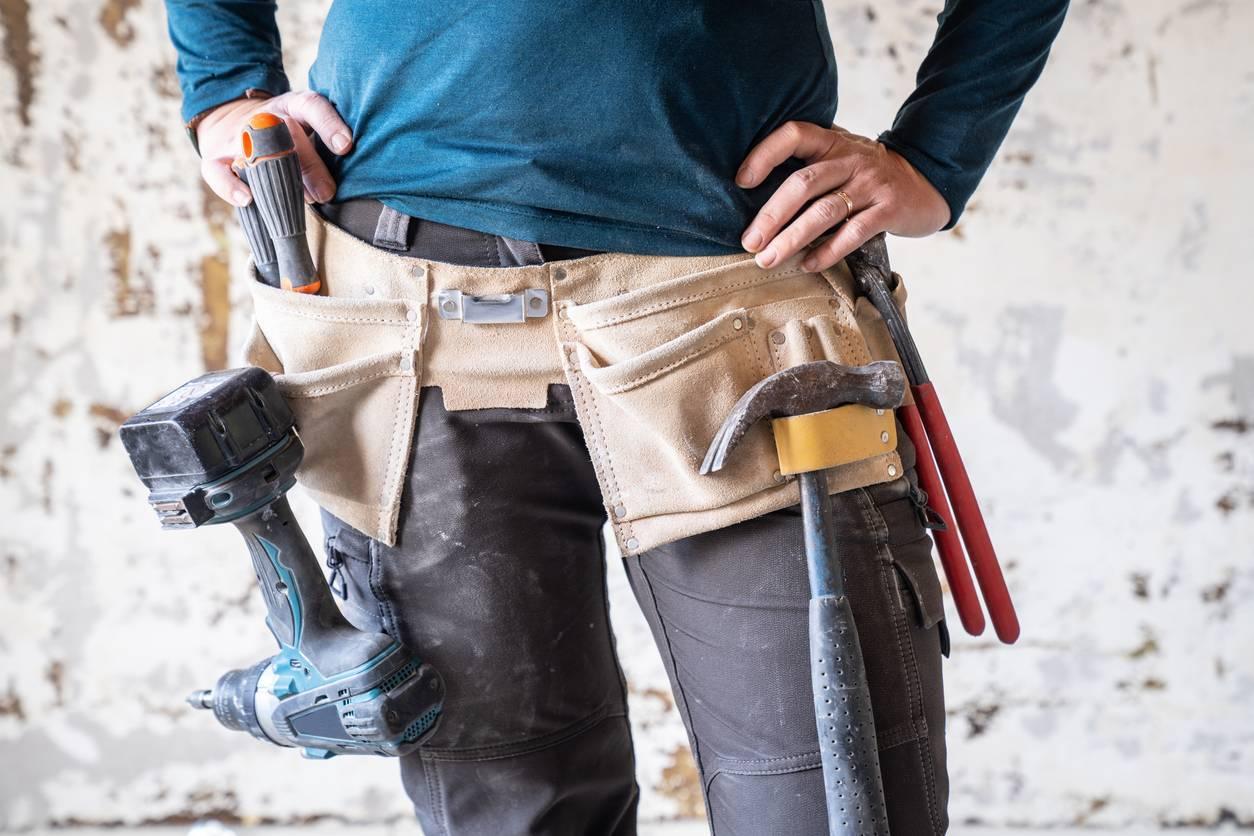 pantalon flexible avec poches
