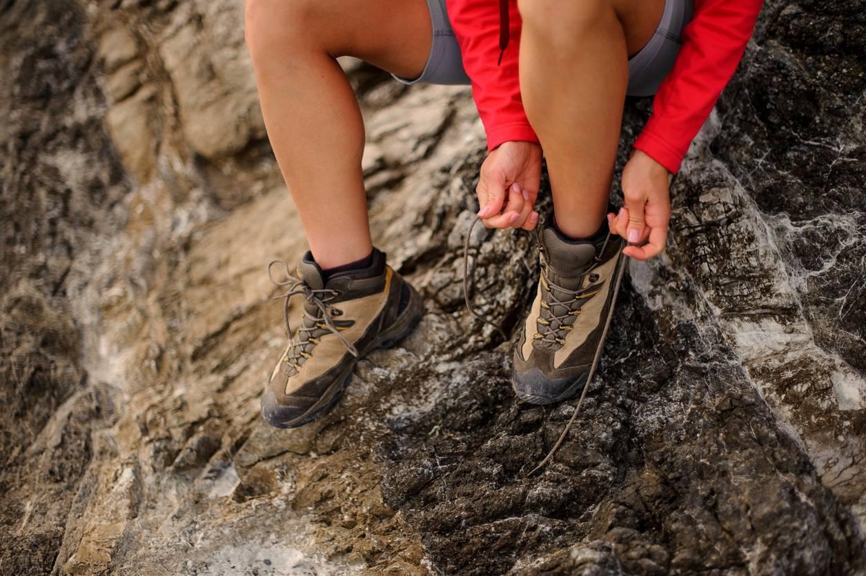chaussures de randonnée équipement outdoor