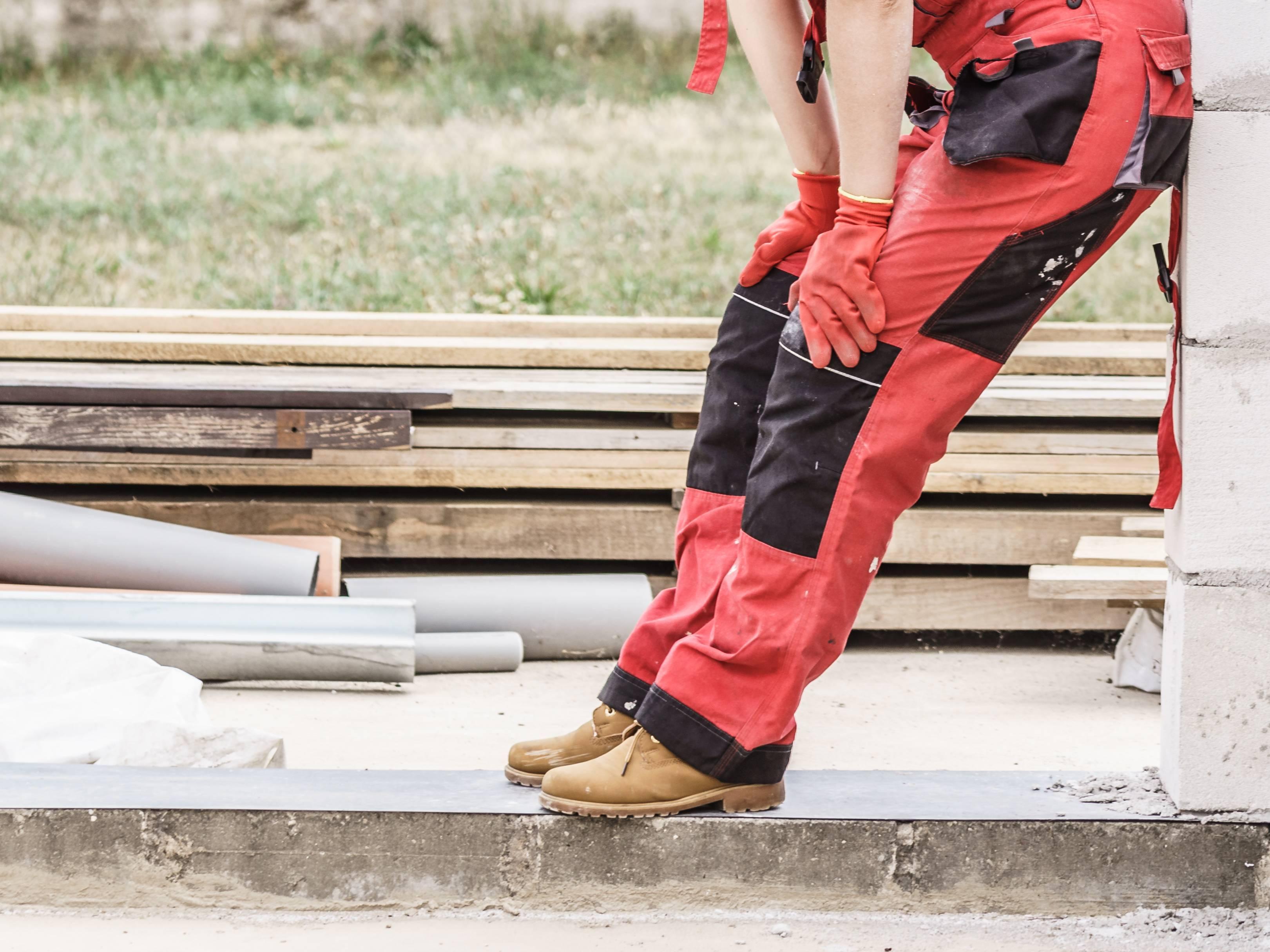 pantalon flexible pour chantier